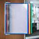 Демосистема настенная на 10 панелей TARIFOLD (Франция), А3 формат, металлическое основание