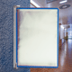 Демосистема настенная на 10 панелей TARIFOLD (Франция), А4 формат, металлическое основание