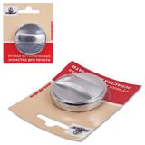 Оснастка ручная для печати D=40 мм, «Спутник», с клеевым слоем, корпус металлический, «серебро»