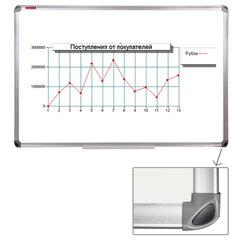 Доска магнитно-маркерная ERICH KRAUSE, 60*90 см, с эмалевым покрытием