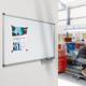 Доска магнитно-маркерная NOBO «Classic», 90×120 см, лаковая, ГАРАНТИЯ 15 ЛЕТ (АККО Брендс, США)