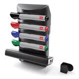 Набор-подставка для магнитно-маркерной доски NOBO PRESTIGE (США), 4 маркера, стиратель, держатель