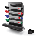 Набор для магнитно-маркерной доски NOBO PRESTIGE, 4 маркера, стиратель, держатель (АККО Брендс, США)