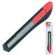 Нож универсальный MAPED (Франция) «Start», 18 мм, фиксатор, цвет корпуса черно-красный, упаковка с европодвесом