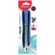 Нож универсальный MAPED (Франция) «Zenoa», 18 мм, автофиксатор, резиновые вставкм, цвет корпуса черно-синий, блистер