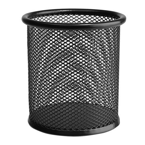Подставка-органайзер ERICH KRAUSE, металлическая, круглое основание, черная