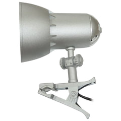 Светильник настольный «Надежда-1 Мини», на прищепке, лампа накаливания/<wbr/>люминесцентная/<wbr/>светодиодная, до 40 Вт, серебристый, Е27