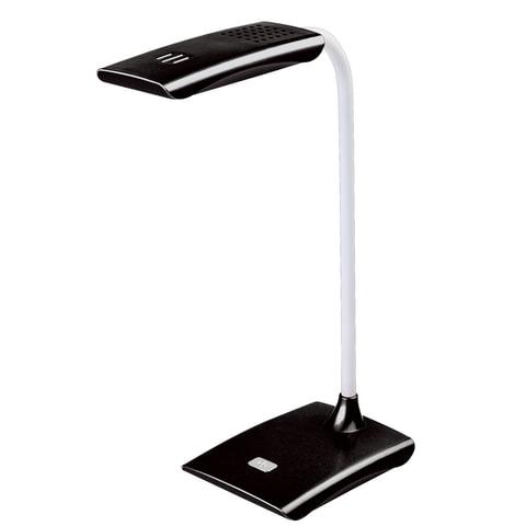 Светильник настольный SONNEN TL-LED-004-7W-12, на подставке, светодиодный, 7 Вт, 12 LED, черный