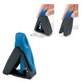 Оснастка карманная для штампа, оттиск 47×18 мм, синий, TRODAT 9412, подушка в комплекте, корпус синий