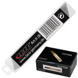 Лезвия для ножей LACO (ЛАКО, Германия), комплект 10 шт., 18 мм, в пластиковой тубе