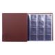 Альбом для монет и купюр на винтах универсальный, 224×224 мм, на 216 монет до D — 45 мм, выдвижные карманы, коричневый, «ДПС»