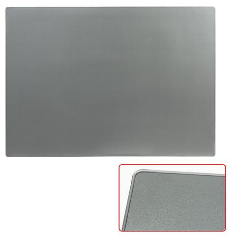 Коврик-подкладка настольный для письма, 655×475 мм, прозрачный серый, «ДПС»