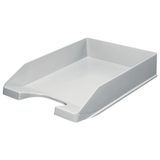 Лоток горизонтальный для бумаг СТАММ «Стандарт», серый
