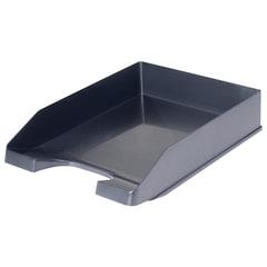 Лоток горизонтальный для бумаг СТАММ «Стандарт», черный