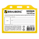 ����� BRAUBERG (��������), 75×105 ��, ��������������, ���������������, ��� ���������, ������