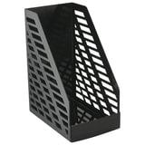 Лоток вертикальный для бумаг СТАММ «XXL», ширина 160 мм, полипропилен, черный