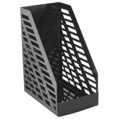Лоток вертикальный для бумаг СТАММ «XXL», ширина 160 мм, черный