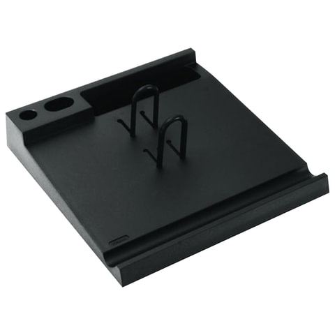 Подставка для календаря большая СТАММ, 204×220×40 мм, черная