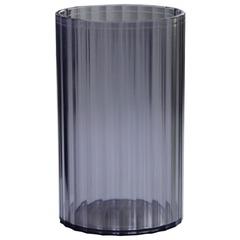 Подставка-органайзер СТАММ «Гранд» (стакан для ручек), 70×70×110 мм, тонированная серая