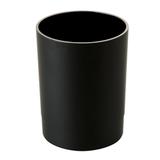 Подставка-органайзер СТАММ «Офис» (стакан для ручек), 70×70×90 мм, черная