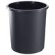 Корзина для бумаг СТАММ цельная, 18 л, черная