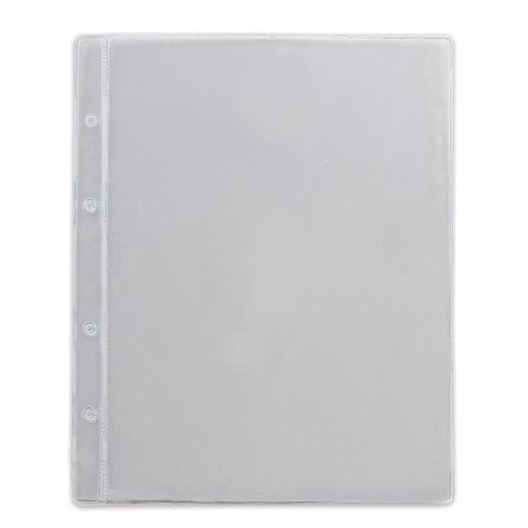 Листы-вкладыши для денежных купюр для альбома «Оптима» М9-05, комплект 5 шт., 200×250 мм, 1 карман