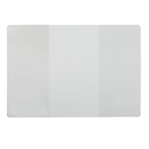 Обложка для удостоверения, ПВХ, 124×178 мм, прозрачная, ДПС