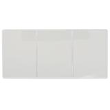 Обложка для автодокументов, ПВХ, 262×122 мм, трехсекционная, прозрачная, ДПС
