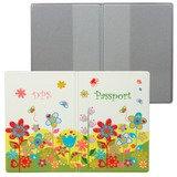 Обложка для паспорта «Твой стиль — Цветы», вертикальная, кожзаменитель, «ДПС»