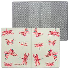 Обложка для паспорта «Твой стиль — Стрекозы», вертикальная, кожзаменитель, «ДПС»