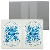 Обложка для паспорта «Твой стиль — Гжель», вертикальная, кожзаменитель, «ДПС»