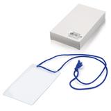 Бейджи, комплект 10 шт., ПВХ, 123×79 мм, вертикальные, на синем шнурке 44 см, «ДПС»