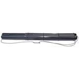 Тубус для чертежей СТАММ телескопический, диаметр 9 см, длина 70-110 см, черный, на шнурке