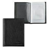 Бумажник водителя BEFLER «Грейд», натуральная кожа, тиснение «Auto documents», 6 пластиковых карманов, черный