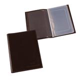 Бумажник водителя BEFLER «Грейд», натуральная кожа, тиснение «Auto documents», 6 пластиковых карманов, коричневый