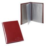 Бумажник водителя BEFLER «Classic», натуральная кожа, тиснение «Auto documents», 6 пластиковых карманов, коньяк