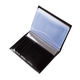 Бумажник водителя BEFLER «Classic», натуральная кожа, тиснение «Auto documents», 6 пластиковых карманов, черный