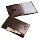 Бумажник водителя BEFLER «Classic», натуральная кожа, тиснение «Auto documents», 6 пластиковых карманов, коричневый