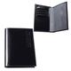 Обложка для паспорта BEFLER «Classic», натуральная кожа, тиснение «Passport», черная