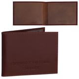 Обложка для удостоверения BEFLER «Classic», натуральная кожа, тиснение «Студенческий билет», коньяк