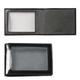 Обложка для удостоверения BEFLER «Classic», натуральная кожа, с окном, черная