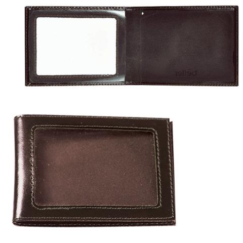 Обложка для удостоверения BEFLER «Classic», натуральная кожа, с окном, коричневая