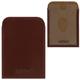 Обложка-футляр BEFLER «Classic», натуральная кожа, для проездных документов и карт, коньяк