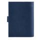 Бумажник водителя FABULA «Largo», натуральная кожа, тиснение «Documents», кнопка, синий