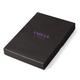 Бумажник водителя FABULA «Talisman», натуральная кожа, геометрическое тиснение, 6 пластиковых карманов, малиновый