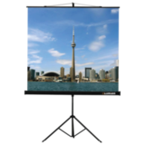 Экран проекционный LUMIEN ECO VIEW, матовый, на треноге, 200×200 см, 1:1