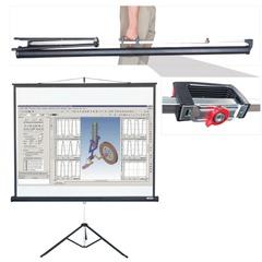 Экран проекционный LUMIEN MASTER VIEW, матовый, на треноге, 127×127 см, 1:1