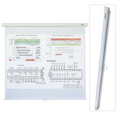 Экран проекционный LUMIEN ECO PICTURE, матовый, настенный, 160×160 см, 1:1
