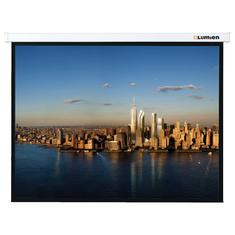 Экран проекционный LUMIEN MASTER PICTURE, матовый, настенный, 154х240 см, 16:10