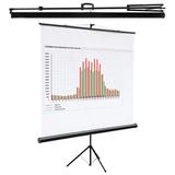 Экран проекционный DIGIS KONTUR-C, матовый, на треноге, 200×200 см, 1:1
